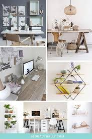 bureau stylé décoration bureau style scandinave