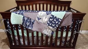 Arrow Crib Bedding by Baby Boy Crib Bedding Navy Deer Fletching Arrow Navy Arrow