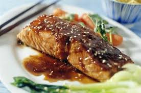 cuisiner filet de saumon saumon et sauce teriyaki au sésame