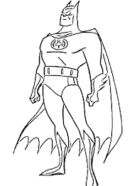 Download Coloring Pages Free Batman Printable For Kids