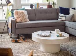 grey sectional sofa decorate a small apartment living room light
