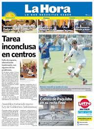 Diario La Hora Zamora 16 de Septiembre 2012 by Diario La Hora