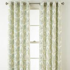 Grommet Top Curtains Jcpenney by Jcpenney Home Windsor Grommet Top Curtain Panel Jcpenney