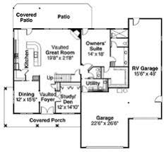 Floor Plans For House With RV Garage