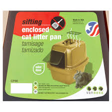 Bathtub Reglazing Clifton Nj by Van Ness Cp66 Enclosed Sifting Cat Pan Litter Box Large 1 Ct