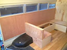 Skoolie Conversion Floor Plan by Winslow The Bluebird A Coastal Conversion Bus Conversion
