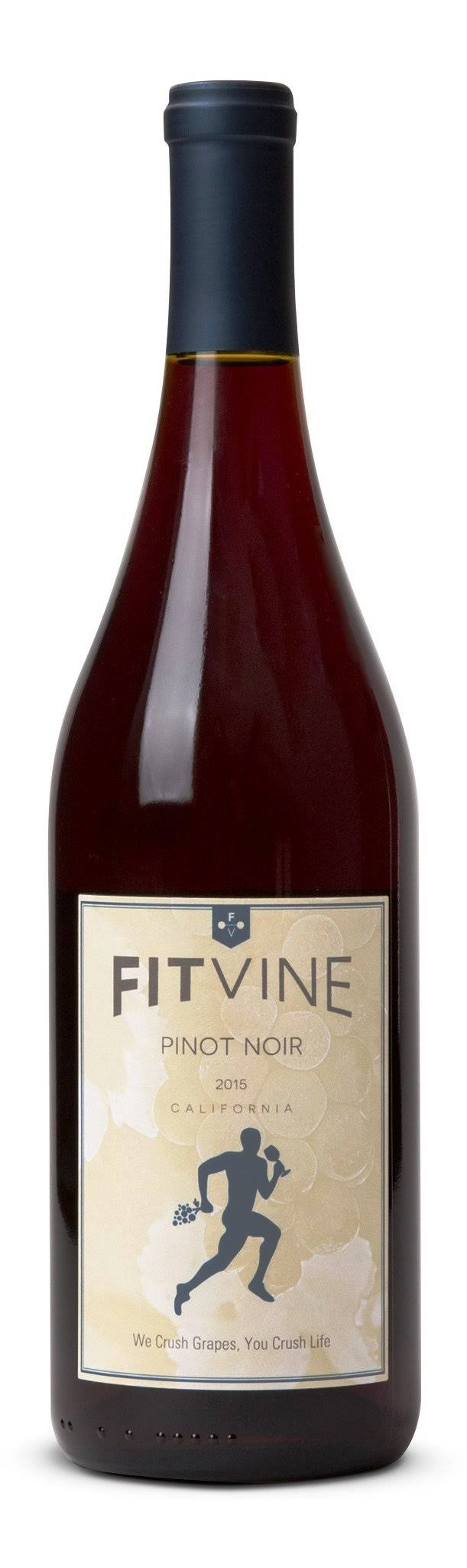 Fitvine Wine, Pinot Noir, California, 2017 - 750 ml