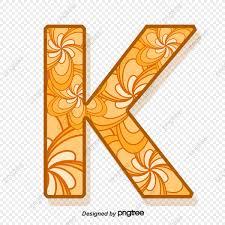 Modelo Carta K Patrón Modelo De Cartas La Letra K PNG Y