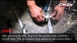 100 Auxiliary Fuel Tanks For Pickup Trucks How To Install A Dee Zee Tank Connector Kit YouTube