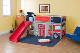 100 Fire Truck Loft Bed Amazoncom DHP Curtain Set For Junior With Department