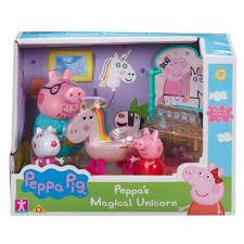 peppa pig playset peppas magical unicorn