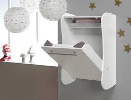planche a langer murale table à langer murale blanche