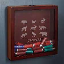 Boone Personalized Shotgun Shell Shadow Box Cabin Decor For Hunters