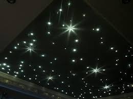 sternenhimmel mit 100 lichtfasern 1mm led glasfaser le lautlos badezimmer