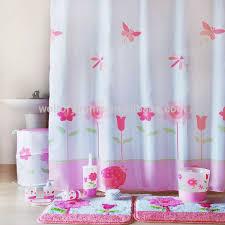 romantisches badezimmer set im match design geheimes gartenbad set für mädchen dusch vorhang badematten set badzubehör set buy romantischen bad in