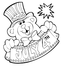 Free Printable 4th Of July Coloring Pages Photo
