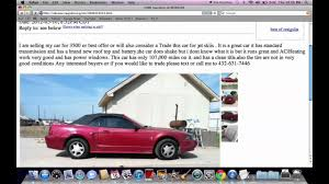 Craigslist Houston Texas Cars And Trucks For Sale By Owner