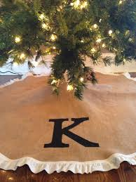 72 Inch Christmas Tree Skirts by Best 25 Burlap Tree Skirt Ideas On Pinterest Burlap Tree Skirt
