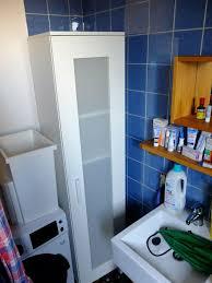 schmaler schrank bad küche flur weiß ikea