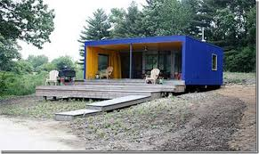 Shipping Container Homes Seattle Blue CABANES Pinterest 2