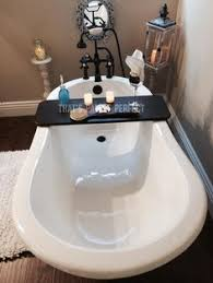 Cheviot Bathtub Caddy With Reading Rack by Rustic Bathtub Tray Bath Board Bathtub Caddy Bath Tub Shelf