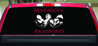 100 Custom Window Decals For Trucks Minnesota Armsports Rear Decal For Truck Graphic
