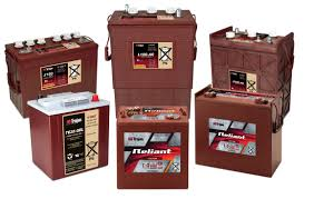 Tennant Floor Machine Batteries by Press Kits Trojan Battery Company