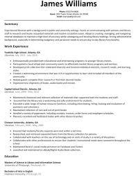 Librarian Resume Sample Resumelift Com Hyperrevcipo