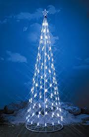 Light String Christmas Cone Tree