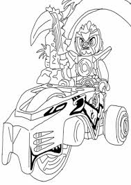 Kids Lego Chima Coloring Pages