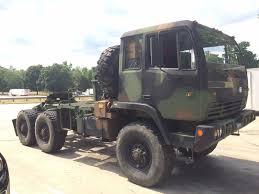 100 5 Ton Army Truck 1998 Stewart Stevenson M1088 6x6 Ton Military Tractor Truck