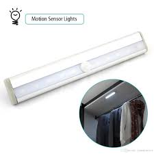 battery operated motion sensor lights ivation 6 led automatic
