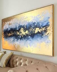 acrylmalerei große abstrakte malerei original oversize