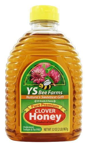 YS Bee Farms Pure Premium Clover Honey