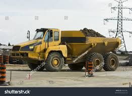 100 Large Dump Trucks Very Truck Construction Site Stock Photo Edit