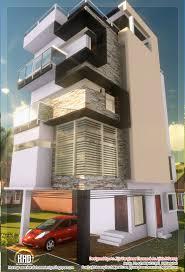100 Narrow House Designs 3 Floor Contemporary Narrow Home Design KeRaLa HoMeS