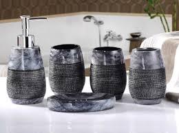 blau badezimmer set bad accessoire set wc set bellabrunnen