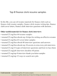 Top 8 Finance Clerk Resume Samples 8 Amazing Finance Resume Examples Livecareer Resume For Skills Financial Analyst Sample Rumes Job Senior Executive Samples Project Manager Download High Quality Professional Template Financial Advisor Description Finance Sample Velvet Jobs Arstic Templates Visualcv Services Example Auditor To Objective Analyst Sazakmouldingsco