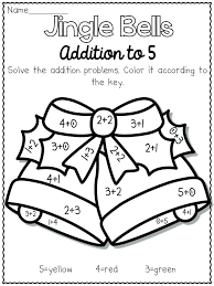 Color By Number Addition Worksheets Adding Live Love Laugh Everyday In Kindergarten Oh