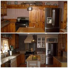 Before After This Was A Partial Kitchen Remodel Using