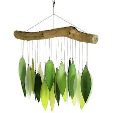 Driftwood Wind Chime Spring Leaves Found On Polyvore