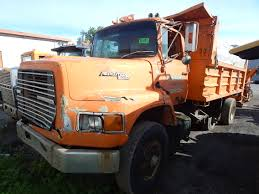 FORD AEROMAX L9000 TANDEM AXLE DUMP TRUCK, PARTS TRUCK, VIN N/A 2007 Intertional 8600 For Sale 2512 Tandem Dump Truck Andr Taillefer Ltd Side Kenworth Tri Axle Trucks For Sale Plus Fisher Price Little Best Landscaping Together With Mack As Well Intertional Workstar Dump Trucks In Md Craft Insert And Flatbed Super 10 In Ca 2005 Ford F550