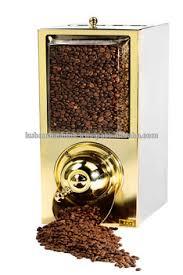 Coffee Bean DispenserCoffee Silo Rectangular ShapeTea Leaves DispensersBulk Dry Food