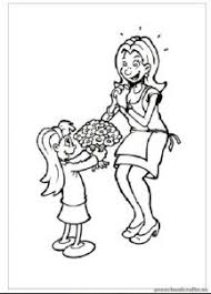 Mothers Day Preschool Coloring Pages Free Printable