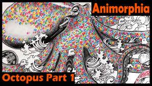 Animorphia Coloring Book Tutorial