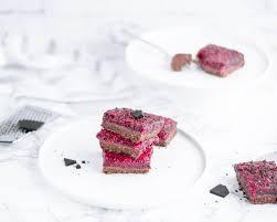 zuckerfreier no bake himbeer schoko kuchen einfach