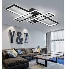 led deckenleuchte wohnzimmer len dimmbar deckenle hängeleuchte modern platz chic decke leuchen metall acryl mit fernbedienung innen schlafzimmer
