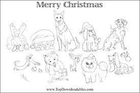 Free Printable Dog Breed Christmas Cards