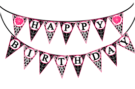 Happy birthday birthday banner clipart free clip art