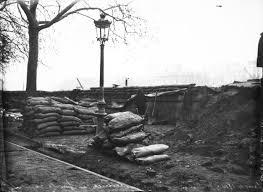 sac de inondation janvier 1910 inondation digues protectrices en le louvre